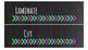 Chalkboard Bright Labels for 10-Drawer Organizer (Pink, Gr