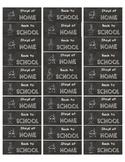 Chalkboard Labels for Homework Folders