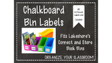 Chalkboard Labels for Lakeshore Book Bins-Editable