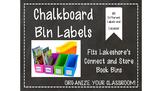 Chalkboard Labels for Lakeshore Book Bins