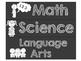 Chalkboard Learning Goal Subject Labels