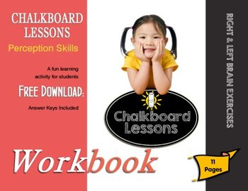 Chalkboard Lessons Presents: Perception Testing for Pre-K - Thru Kindergarten