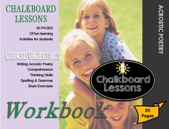 Chalkboard Lessons Presents: Writing with acrostic poetry - level one