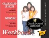 Chalkboard Lessons - Right & Left Brain Exercises - Kindergarten