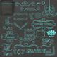 Chalkboard Love 02 Digital Clip Art Set with Bonus Papers- Set 02
