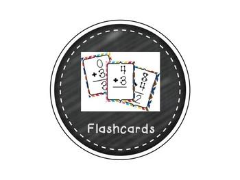Chalkboard Math Labels