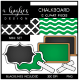 Chalkboard Mini Clipart Bundle {A Hughes Design}