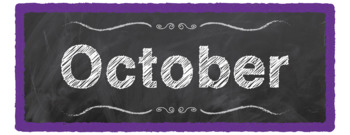 """Chalkboard Month of the Year Cards """"Chalk It To Them Collection"""""""