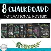 Chalkboard Motivational Posters