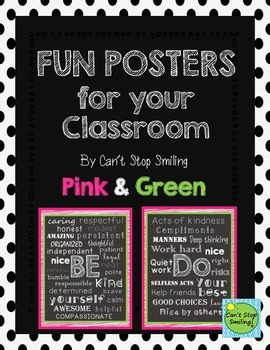 Chalkboard Posters