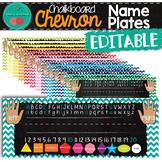 Chalkboard Name Plates