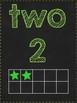 Chalkboard Number Signs {1-10}