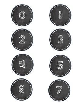 Chalkboard Numbers