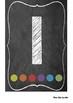 Chalkboard Numeral Display 1-20