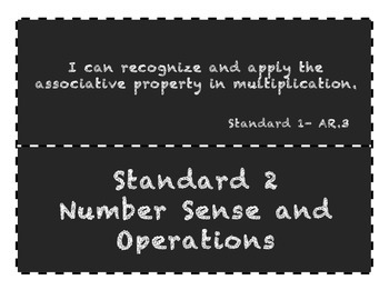Chalkboard Oklahoma Academic Standards for 4th grade Math and Social Studies