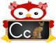 Chalkboard Owl Alphabet Decor