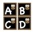 Chalkboard Owl Book Bin Labels