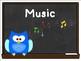 Chalkboard & Owl Themed Class Pack