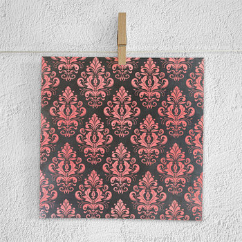 Chalkboard Paper Pack, Coral Chalk Patterns {Pretty Graphics}