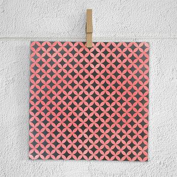 Chalkboard Background, Chalkboard Paper Pack, Coral Chalk Patterns