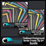 Framed Chalkboards Clip Art (Bundle)