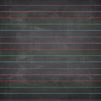 Lined Chalkboard Patterns Digital Paper Backgrounds