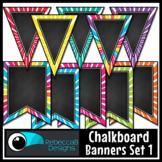 Chalkboard Bunting Clip Art