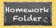 2x4 Chalkboard & Polka Dot Homework Folder Labels