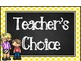 Chalkboard & Polka Dots Behavior Clip Chart Freebie