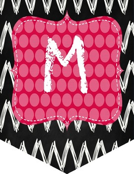 Chalkboard Polka Dots Math Workshop Banner