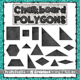 Chalkboard Polygon Graphics Clipart