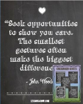 Chalkboard Posters: Teaching Quotes