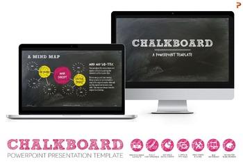 Chalkboard Powerpoint Presentation Template
