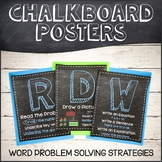 Chalkboard RDW Posters for Eureka/Engage NY Math