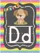 Chalkboard Rainbow Alphabet