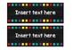 Chalkboard & Rainbow Labels [EDITABLE]