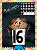 Number Posters~Rainbow Chalkboard Theme