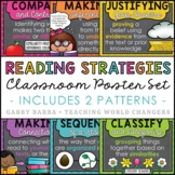 Chalkboard Reading Strategies Posters