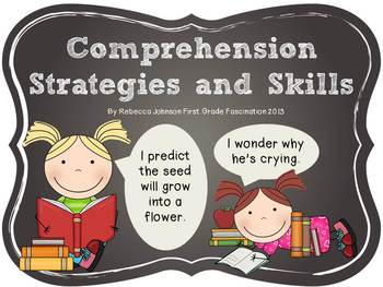 Chalkboard Reading Strategies and Skills posters