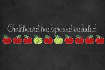 Chalkboard School Borders Clipart