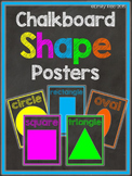 Chalkboard Shape Posters - Bold and Bright