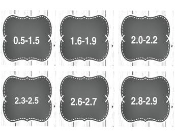 Chalkboard Shiplab Editable Labels