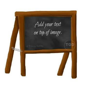 Chalkboard Sign Art - chalkboard sign clip art, Printable Tracey Gurley Designs