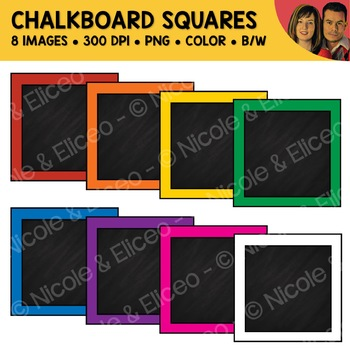 FREE Chalkboard Square Clipart