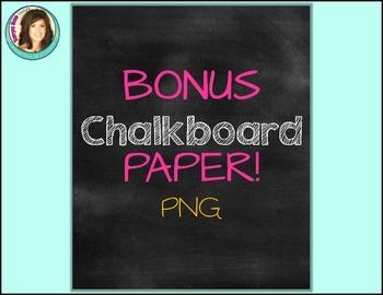 Chalkboard Starburst Frames