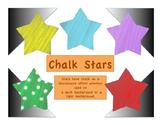 Chalkboard Stars: Clip Art Freebie