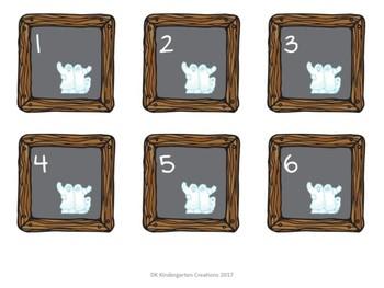 Chalkboard Style Calendar Cards - October