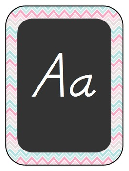 Chalkboard Style Classroom Decor-Pink, Teal, and Tan