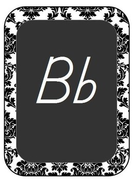 Chalkboard Style Classroom Decor-Teal, Black, and Gray