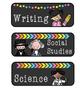 Chalkboard Subject Labels